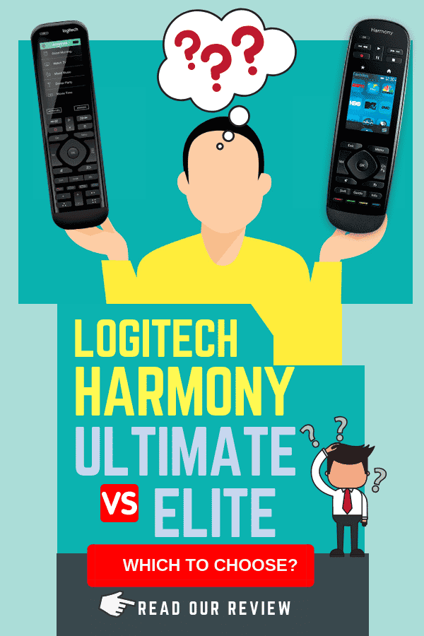 logitech harmony elite vs ultimate