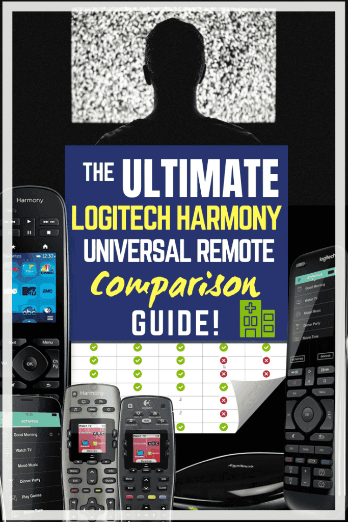 Logitech Harmony Comparison Chart: Epic 2019 Guide/Infographic