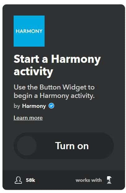 harmony and ifttt weather