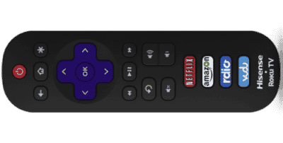 hisense smart tv remote replacement
