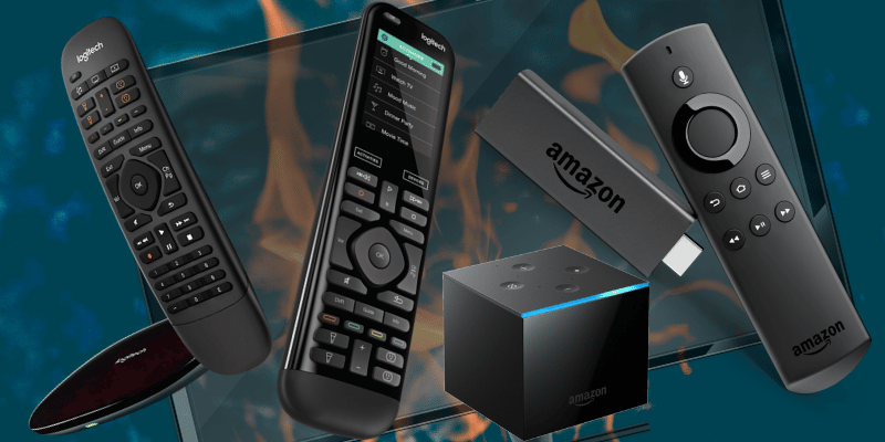 Bbest universal remotes amazon fire tv