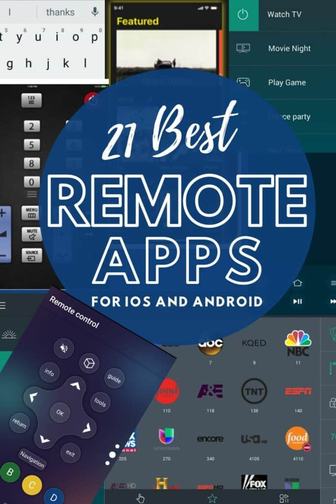 best universal remote apps ios android