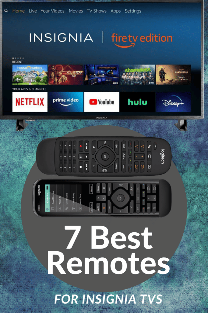 best remotes for insignia