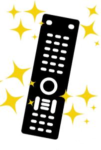 clean sanitize remote controls